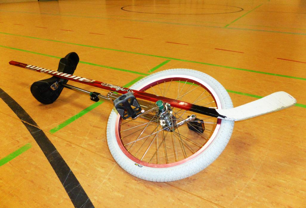 Ausrüstung Einradhockey